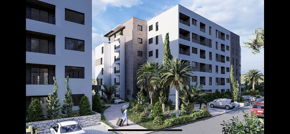 3530 Budva Bechichi Apartment in new building 0-2r 29-67m2
