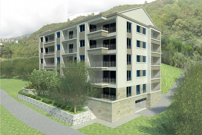3335 Budva Becici Apartment 1-3r 66-133m